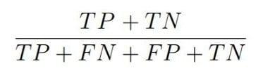 Osztályozó modell egyenlet