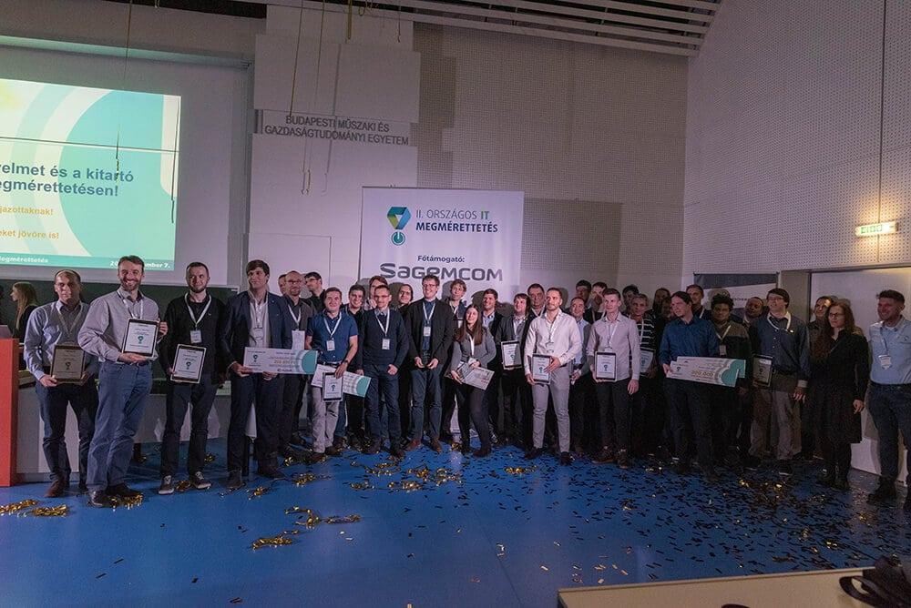 II. Országos IT Megmérettetés díjazottjai | Fotó: Nagy Szabi – IThon.info