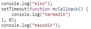 Dorsum-event loop példa
